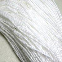 ポリ紐1.2mm ホワイト10cm