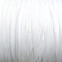 ポリ紐0.8mm ホワイト10cm